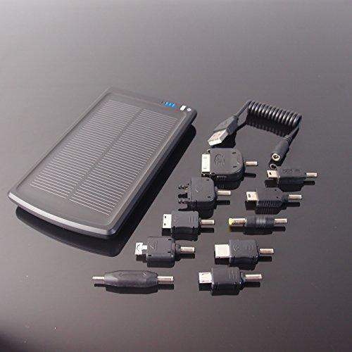Caricabatteria ad Energia Solare All Black 3000 mAh