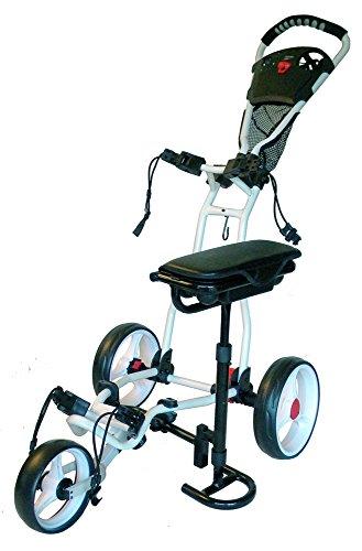 Spider 3 Wheel Golf Push Cart, golf push cart, golf push cart reviews, best golf push carts