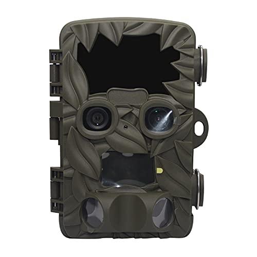 Cámara De Vigilancia De Seguridad 4K / Cámara De Detección De Sonido, Cámara De Caza De Vida Silvestre HD Con Visión Nocturna, Movimiento Activado Por Movimiento IP66, Para Monitoreo De Vida Silvestre