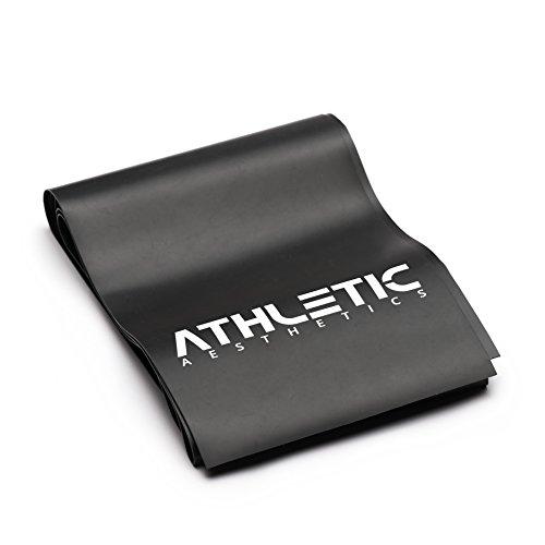 ATHLETIC AESTHETICS Premium Fitnessband [2 m Länge] - Gymnastikband/Resistance Band in Studioqualität für Fitness, Gymnastik, Warmups und Krafttraining