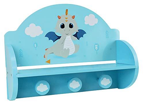 FUN HOUSE Dragon 713338 Porte Manteau pour Enfant, PM