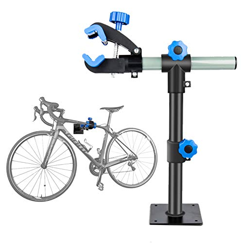 Clothink Bike Repair Stand Wall Mount Height Adjustable Bicycle Mechanic Maintenance for Storage Workstand Repair Rack for Storage Mountain Bikes