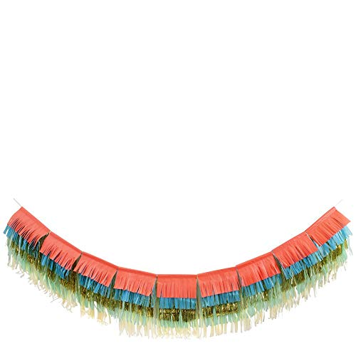 Meri Meri Colorful Fringe Garland