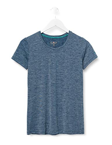 CMP Damen T-Shirt 30T7236, Blue, D44