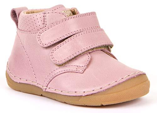 Froddo Klett Halbschuhe, Flexsohle, Glattleder für hohen Spann & breitere Füße ROSA 30188 (Numeric_23)