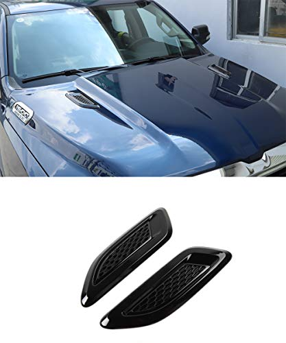 Car ABS Hood Scoop Air Vent Cover, Hood Scoop Decorative Cover for Dodge RAM 2010-2020
