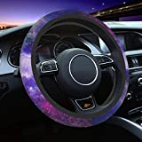 Glow Galaxy Universal 15 Inch Steering Wheel Covers Anti Slip Neoprene Car Wrap Cover for Adults