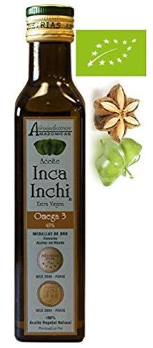 Inka foods, Aceite de SACHA INCHI, ecológico, contiene Omega 3-6-9 Vegetal, 250 ml