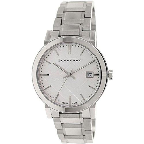 BURBERRY BU9000 - Reloj para Hombres, Correa de Acero Inoxidable