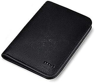 محافظ - محافظ قصيرة من ويليام بولو، محفظة من الجلد الطبيعي للرجال، وحامل بطاقات بجيب للعملات المعدنية، محفظة صغيرة، حقيبة ...