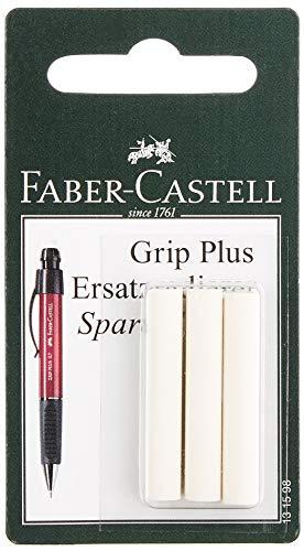 Faber-Castell 10003323 Lot de 3 Gommes de Rechange Criteriums Grip Plus