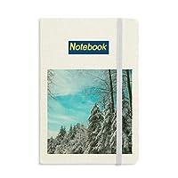 松雲と青い空 ノートブッククラシックジャーナル日記A 5