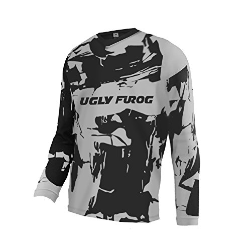 Uglyfrog UKHNEJ09 Bike Wear Mens Downhill Motocross Jersey Rage MTB Cycling Top Cycle Long Sleeve Spring Mountain Bike Shirt