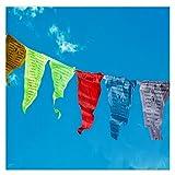 5 Farben Elemente Seide Tuch Wind Pferd Tibetan Buddhistin