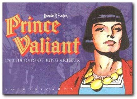 Prince Valiant In The Days Of King Arthur 30 Postcards