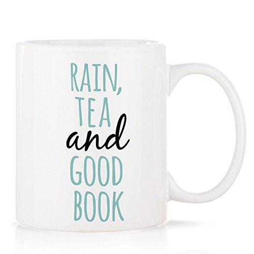 We Love Home - Tasse Mug en Porcelaine 32 cl. Style scandinave Design Rain & Tea