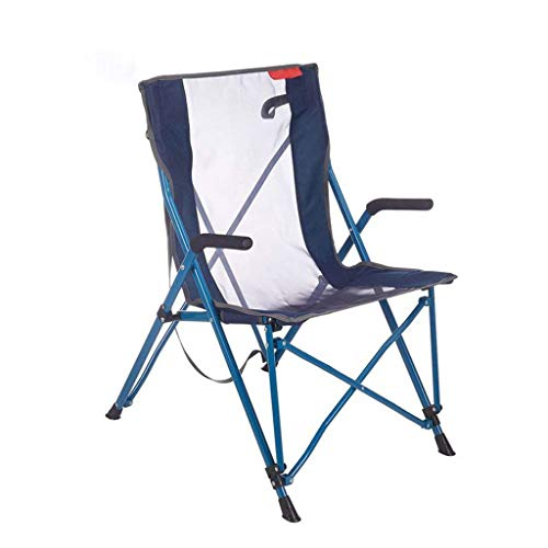 Zmsdt Outdoor Portable Chaise Pliante Dossier Barbecue Camping Plage Ventilate Light Relax Pêche Chaise Pliante Moderne