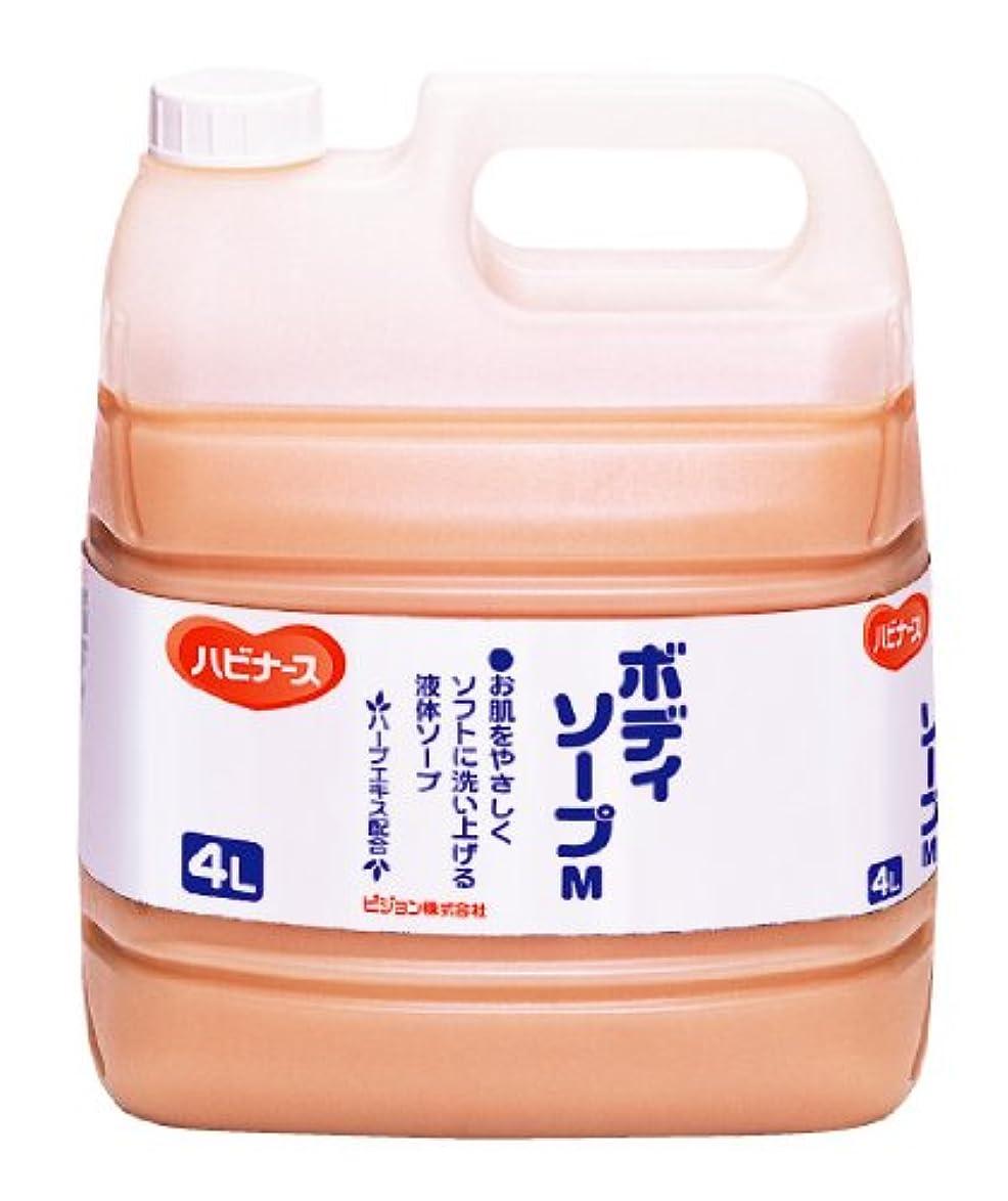 脚酸化物大佐ハビナース ボディソープ 4L [業務用]