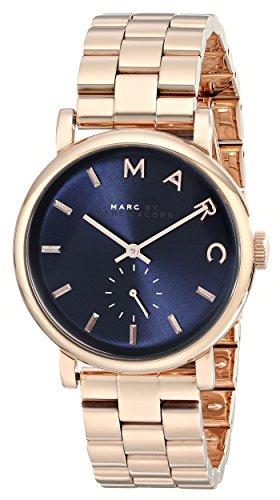 Marc by Marc Jacobs Damen Analog Quarz Uhr mit Edelstahl Armband MBM3330