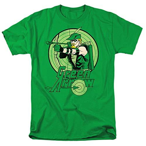 Green Arrow Robin Hood DC Comics T Shirt & Stickers (Medium)