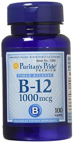 Vitamina B12 1000mcg Puritans Pride - 100 Cápsulas