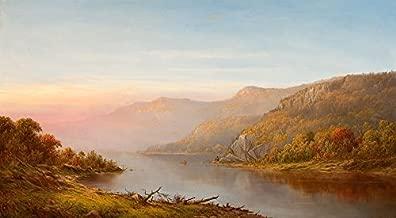 Home Comforts New York Charles Wilson Hudson River Painting Laminated Poster Print 24 x 36