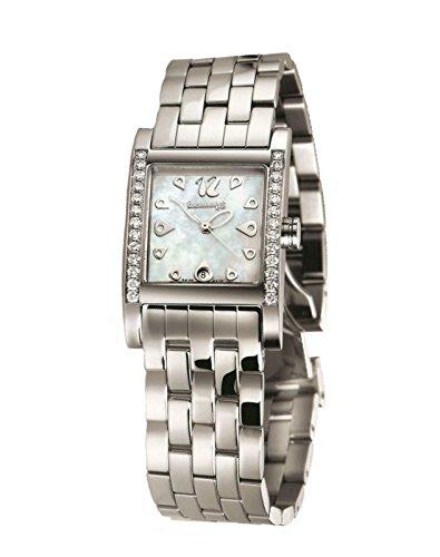 Orologio Eberhard Donna Gingi Date Acciaio Diamanti 61007 BR