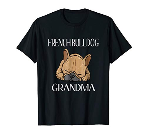 French Bulldog Grandma Frenchie T-Shirt For Women