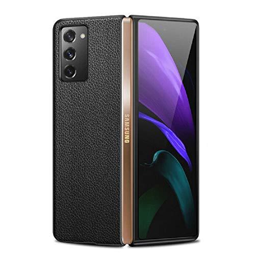 Mighty-eagle para Samsung Galaxy Z Fold 2 5G Funda de Cuero