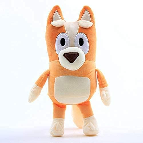 El perro muñeco de peluche de dibujos animados Tv ABC Bingo 28 cm lindo juguete de felpa decoración de la habitación regalo de cumpleaños muñeco de peluche regalo creativo