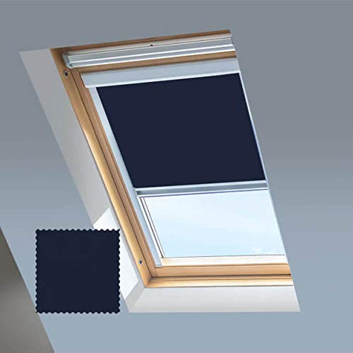 Persianas enrollables Blackout Skylight para ventanas de tejado o techo Dakstra, color...