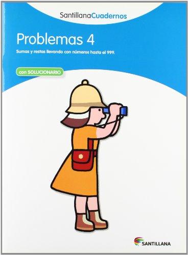 PROBLEMAS 4 SANTILLANA CUADERNOS - 9788468012483