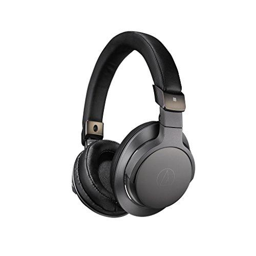 Audio-Technica ATH-SR6BTBK Fones de ouvido circum-auriculares bluetooth, sem fio, com microfone e controle, preto