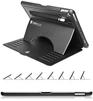 ZUGU CASE - 2019 iPad Air 3 10.5/2017 iPad Pro 10.5 inch Case Prodigy X - Very Protective But Thin + Convenient Magnetic Stand + Sleep/Wake Cover  Black