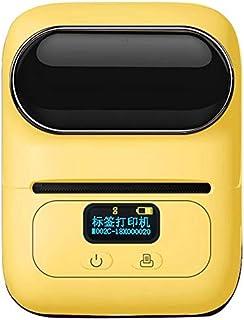 الطابعات - طابعة لاسلكية حرارية بطاقة بطاقة بلوتوث ماكينة طباعة الباركود لماكينة Ios و Android (أزرق)