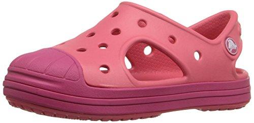 Crocs Crocs Bump It K, Unisex-Kinder Sandalen, Rot (Coral/Raspberry 6MO), 27/28 EU