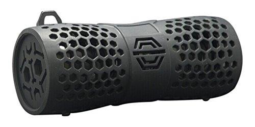 Sylvania SP332-BLACK Water Resistant Bluetooth Speaker