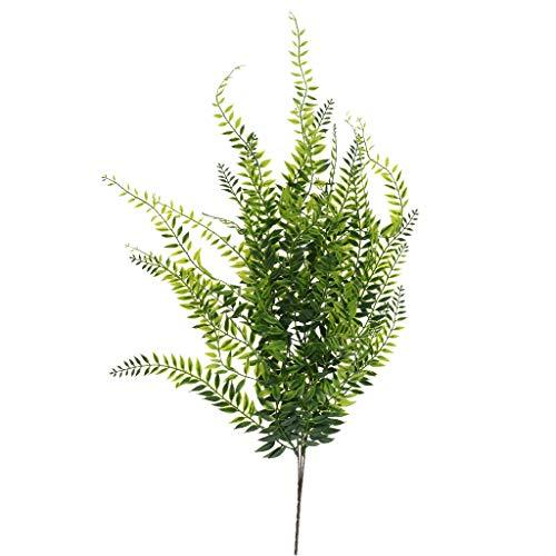 Fenteer Plantas Artificiales Sauce Llorón Ivy Vine Plantas Colgantes Arreglo Floral Decoración De La Boda