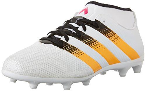 adidas Performance Ace 16,3 Primemesh Fg/ag W FuÃ?ballschuh, weiÃ? / Gold/Schock Rosa, 10,5 M Us