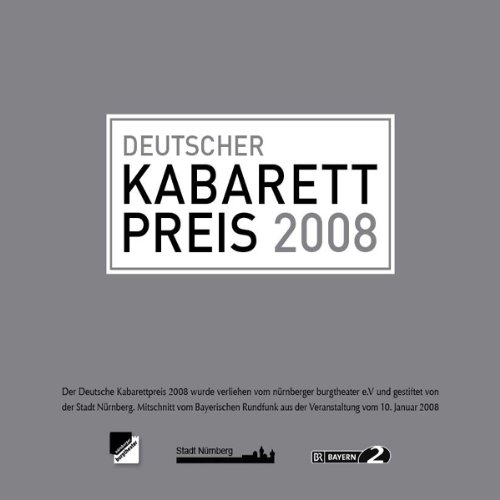 Couverture de Deutscher Kabarettpreis 2008