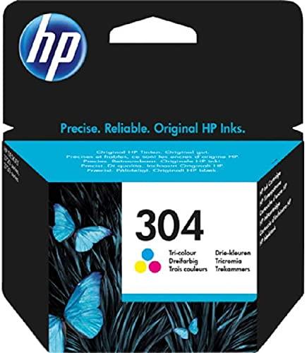 HP 304 N9K05AE UUS - Cartuccia Originale per Stampanti HP a Getto di Inchiostro, Tricromia (Ciano/Magenta/Giallo)
