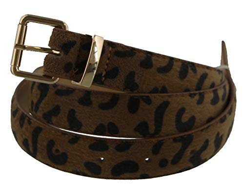 Dielay dames riem met luipaardpatroon - PU kunstleer