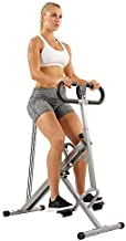 Sunny Health & Fitness Squat Assist Row-N-Ride Trainer for Squat Exercise and Glutes Workout