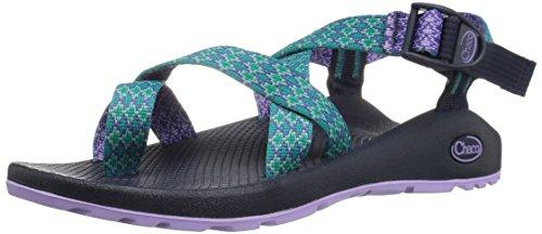Chaco Women's Z2 Classic Athletic Sandal, Lavender Diamond, 6 M US