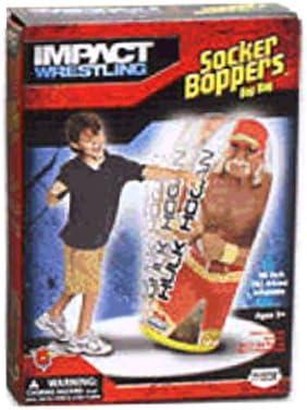 Amazon.com: Socker Boppers Impact Wrestling Hulk Hogan 36