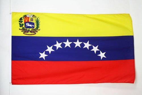 AZ FLAG Bandera de Venezuela 150x90cm - Bandera VENEZUELANA 90 x 150 cm