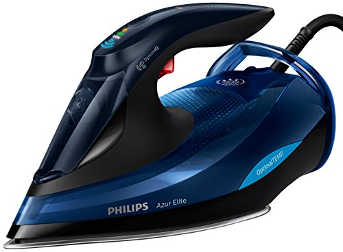Philips Steam Iron with OptimalTEMP Technology GC5031 / 20 Iron, 2400 W, Black, Blue