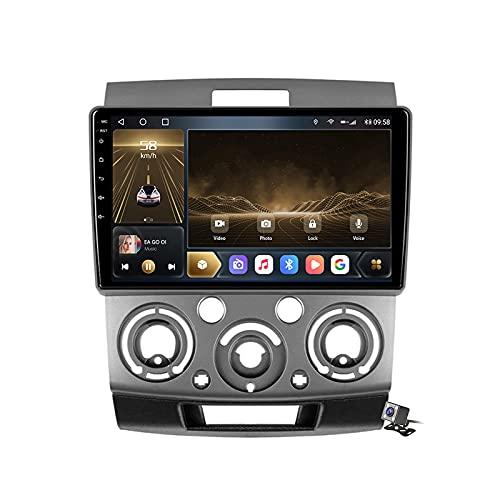 Buladala Android 10 Autoradio Stereo GPS Navigatore 2 DIN con 9' Schermo per Mazda BT-50 2006-2011 Supporto FM AM RDS DSP/Controllo del Volante/Carplay Android Auto/BT Vivavoce/Voice Control,M500