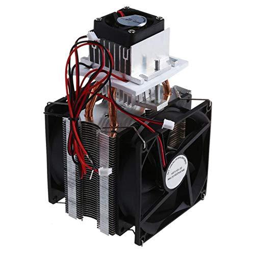 ZBSM Semiconductor RefrigeracióN Peltier Enfriador Juego de Hojas DIY Enfriador ElectróNico Aire Acondicionado 12V Sistema de Enfriamiento de Nevera