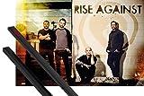1art1 Rise Against Poster (91x61 cm) The Black Market, Line